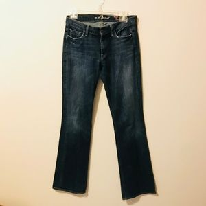 7 For All Mankind High Waist Bootcut Jeans 583